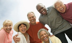 Baby Boomers enjoying retirement