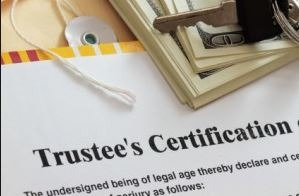 trustee compensation and certification document