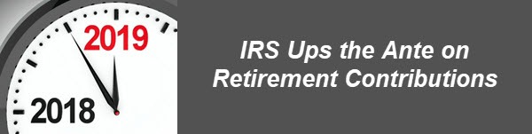 retirement contributions for tax year 2019